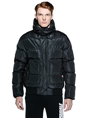 Winterjacke Uomo Hempstead Nero Lonsdale giacca UwFnf