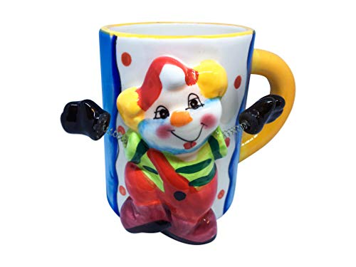 Unique Coffee Mug - 3D Cool Mugs - Animal Novelty Cups for Tea & Coffee - Ceramic Drinking Cups with Handle - Premium Quality & Design - Colored Fun Kitchen -