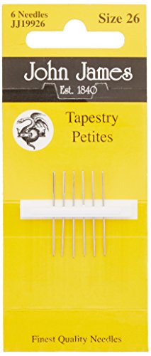 Colonial Needle Tapestry Petites Hand Needles-Size 26 6/Pkg