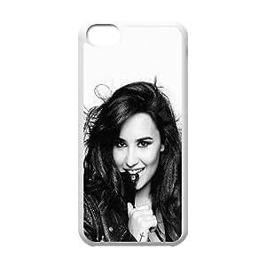 Demi Lovato iPhone 5c Cell Phone Case White Delicate gift AVS_561635