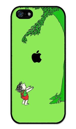giving-tree-apple-iphone-5-case-iphone-5s-case-hard-plastic-case