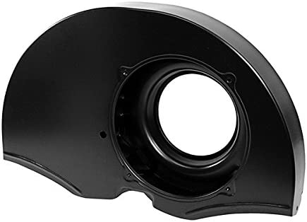 AA Performance Products Black 36HP Dog House Fan Shroud W//O Ducts