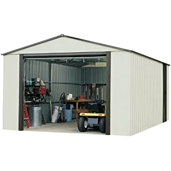arrow vt1431 vinyl coated murryhill 14feet by 31feet heavy duty steel storage