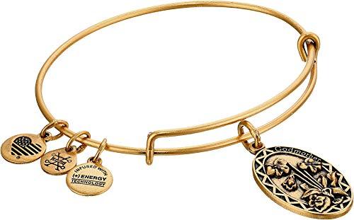Alex and Ani Godmother Rafaelian Gold Bangle Bracelet