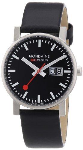 Mondaine Men's A669.30300.14SBB Big Date Evo Leather Band