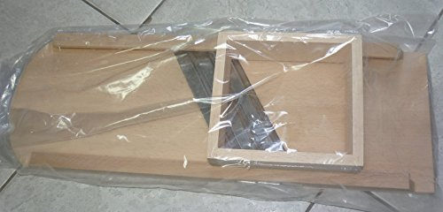 Krauthobel, 3-Messer, 23 x 65 cm