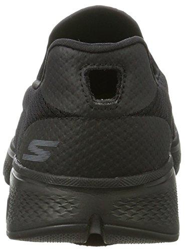 Skechers Go Walk 4, Zapatillas para Hombre Negro (Bbk)