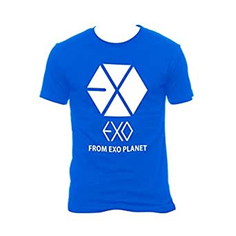 EXO from EXO Planet Blue Tshirt