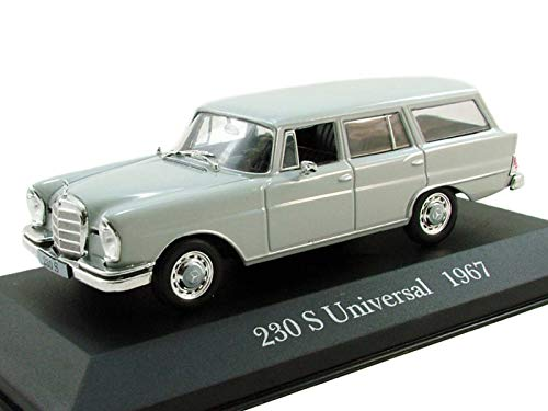 Mercedes-Benz 230S Universal 1967 Year German Six-Cylinder Car 1/43 Collectible Model Vehicle Four-Door Sedan by Mercedes-Benz Company