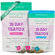 Skinny Mint 28 Day Ultimate Teatox, Herbal Weight Loss Tea - Natural Weight Loss, Body Cleanse and Appetite Control. Proven Weight Loss Formula