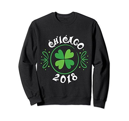 Hyde Park Beer (Unisex St Patricks Day Irish Drinking Chicago Sweatshirt 2018 Gifts Large Black)