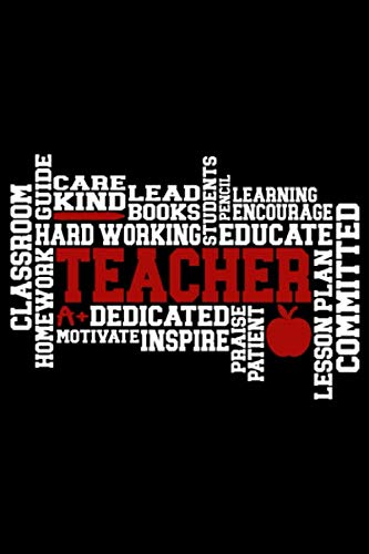 Teacher: Wellness Notebook – Self Care Journal – Positive Affirmation Log for Educators