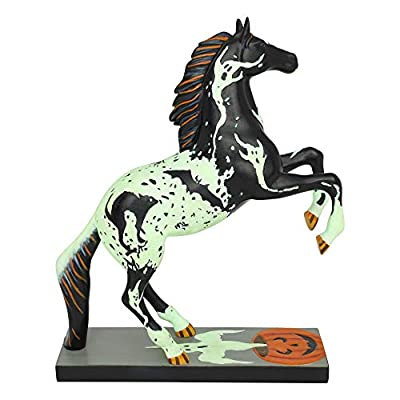 "Enesco Trail of Painted Ponies Spooked Figurine 8"" Multicolor"