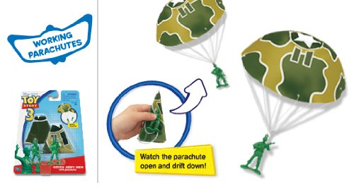 Toy Story 4 - Green Army Men with Parachutes by Toy Story 4 (Image #1)