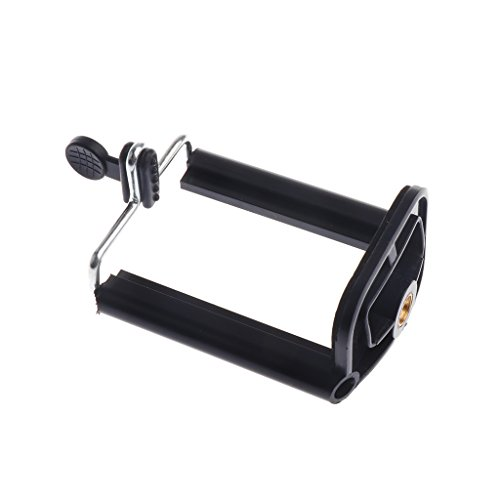 MonkeyJack Stand Clip Bracket Holder Monopod Tripod Mount Adapter for Selfie Stick for Phone Camera iPhone X/ 8/8 Plus 7/ 7 Plus/ 6S/ 6S Plus, Galaxy S7 Edge/ S7 / S8 / S8+ S8 Plus,G6 by MonkeyJack (Image #2)
