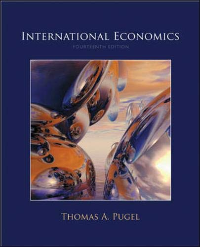 International Economics (Mcgraw-hill Series Economics)