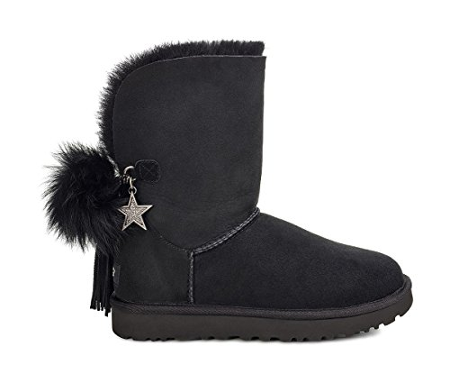 Charm Boot Nero Per 36 Donna Ugg Boot Classic aqx4nwfWSp