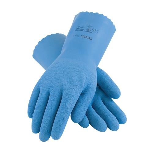 Assurance Fully Coated Latex Gloves, Seamless Knit Liner, Blue, S by Protective Industrial Products (Image #1)