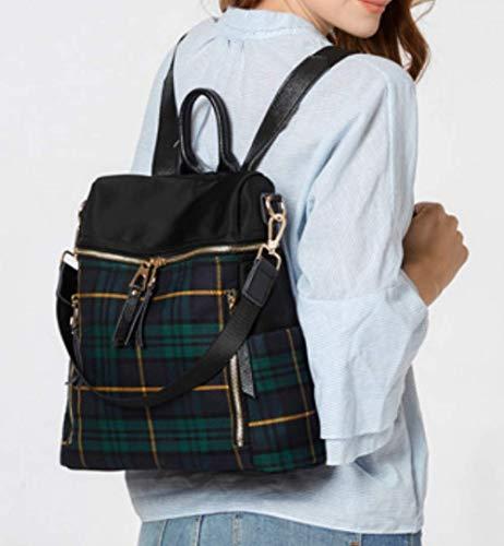 Femme Sac Xzwnb À Pu Dos Pour Cartable Blacka Girls Bag School College Teen HaI1dqnIwx