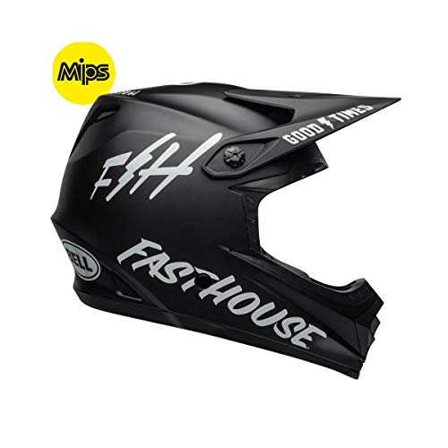 - Bell Full-9 Fusion MIPS Adult Full Face Bike Helmet (Fasthouse Matte Black/White (2019), Medium)