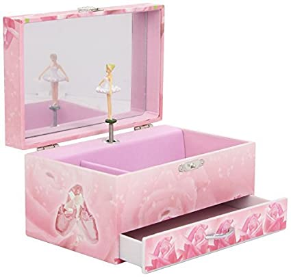 Trousselier Ballerina Musical Jewellery Box Pink by Trousselier