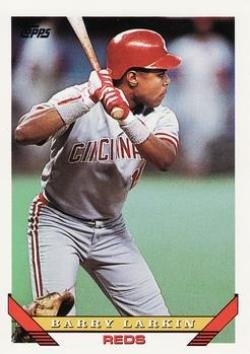 1993 Topps #110 Barry Larkin Baseball Card