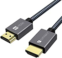 HDMI ケーブル【4K60Hz/6種長さ】iVANKY HDMI2.0規格 PS4/3,Xbox, Nintendo Switch, Apple TV, Fire TVなど適用18gbps 4K60Hz/HDR/3D/イーサネット対応...