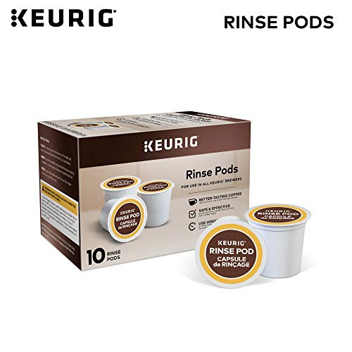 - Keurig 5000057588 Rinse Brews in Both Classic 1.0 and Plus 2.0 Series K-Cup Pod Coffee Makers, 10 Count, White