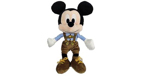 Amazon.com: Nicotoy - Peluche - Mickey Mouse - Bavière 25cm - 5413538785090: Toys & Games