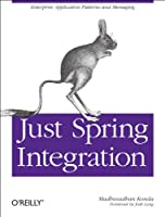 Just Spring Integration Front Cover