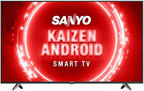 Sanyo 126 cm (50 inches) Kaizen Series 4K Ultra HD Certified Android LED TV XT-50UHD4S (Black) (2020 Model)