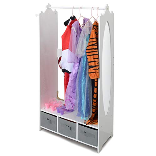Milliard Dress Up Storage Kids Costume Organizer
