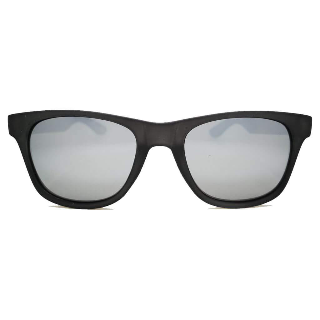 0e8e5ae1c Mohikane Brac Blue - Gafas de sol Mohikane con montura azul translúcida de  TR90 con efecto engomado, lente azul espejada y varillas de madera  Protección ...