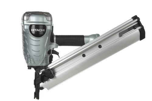 (Factory-Reconditioned: Hitachi NR90ADPR 3-1/2-Inch Clipped Head Framing Strip Nailer)