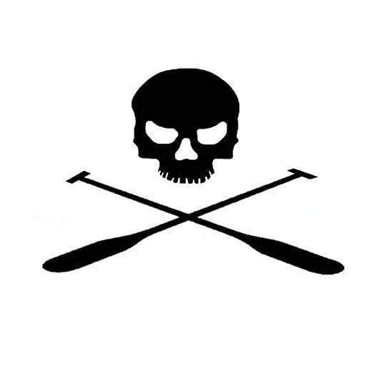 Nmw Art Wallpaper 14 10cm Pirate Skull Terror Paddle Car