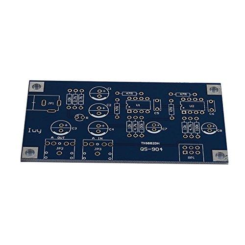 Headphone Amplifier Board - TOOGOO(R)Portable Headphone Amplifier Board AMP Module Kits For Classic 47 DIY with Case