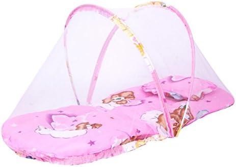 Ochine 유아용 모기장 원터치 식 모기장 모기와 지 방지 매트 된 베개 대하여 접이식 휴대용 모기 그물 천막 한쪽 문 콤팩트수납 아기베이비에 / Ochine Baby Mosquito Net One Touch Mosquito Net Mosquito And Centipede Protection With Matted S...