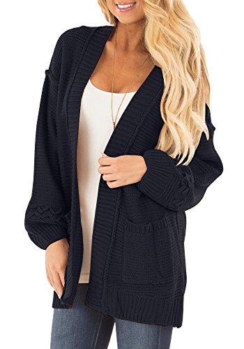 Knit Sweater Coat Pattern - 6