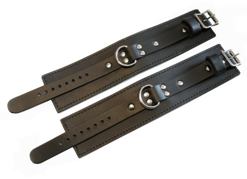 Dungeonware Ankle Restraints with D-Rings Fur Lined by Dungeonware