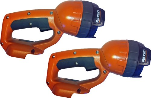 (Ridgid 12V Cordless Flashlight R829 Tool Only, No Battery or Charger included (Ni-Cad ONLY) (2 Pack) # R829)