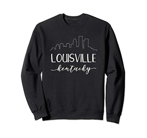 Louisville Kentucky Sweatshirt - Downtown Skyline ()