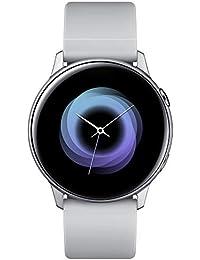 Galaxy Watch Active - 40mm, IP68 Water Resistant, Wireless Charging, SM-R500N International Version (Silver)