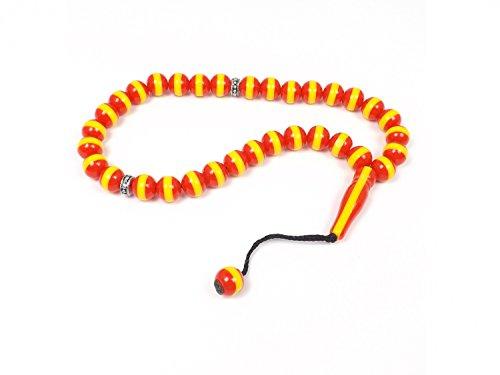 Arabic Prayer Beads (Rosary Prayer Beads Tesbih 'Galatasaray' GS Tasbih Turkish Football Team)