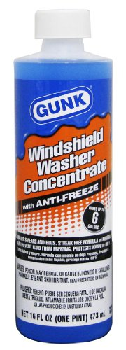 Gunk M516 Windshield Washer Concentrate with Anti-Freeze - 16 fl. oz.