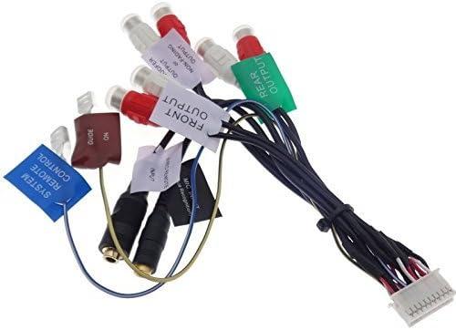 PIONEER AVIC cable 20 pin X1 X3 X1BT RCA amplificador RCA AV adaptador de Radio Remote