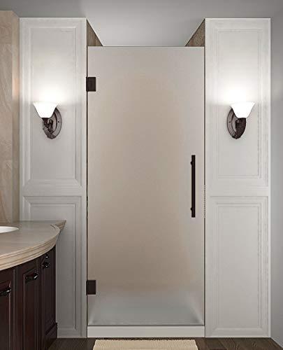 Aston SDR995F-NBR-25-10 Cascadia Shower Door, Bronze