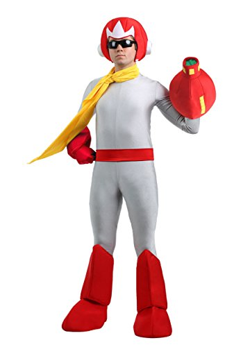 Mega Man Mens Proto Man Costume X-Large Red,