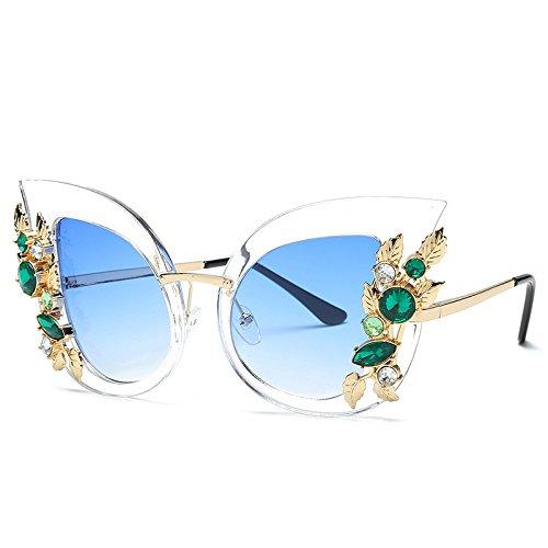 Gafas De Gafas Sol Flores Gran Gafas JUNHONGZHANG De Gafas De Gafas Sol De Metal De Señora De De Gafas Sol Sol E Marco De Gato De do De Ojo Sol De Fwx0tpwU