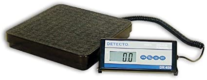 Amazon Com Cardinal Scale Detecto Dr400c 12 In X 12 In Platform General Purpose Portable Scale 400 Lb X 5 Lb 181 Kg X 2 Kg By Cardinal Scale Health Personal Care