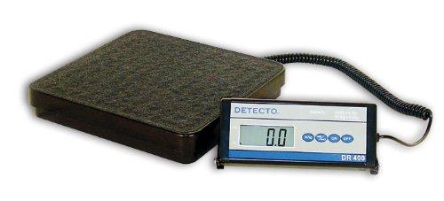 Cardinal Scale-Detecto DR400C 12 in. X 12 in. Platform General Purpose Portable Scale 400 Lb X .5 Lb- 181 Kg X .2 Kg